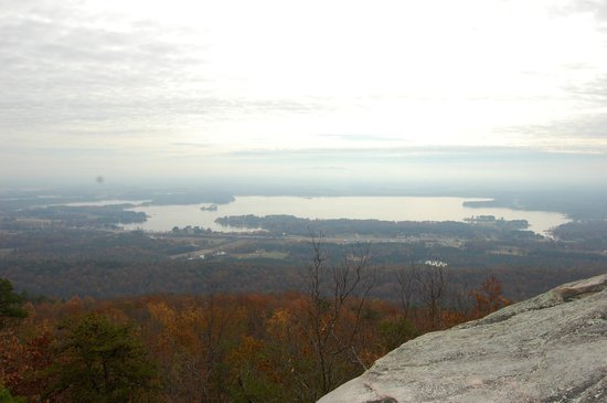 View of Beautiful Weiss Lake from Cherokee Rock Village
