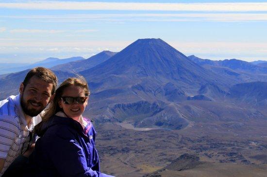 Whakapapa Ski Area - Mt Ruapehu: Mount Ngauruhoe - view from Skyline Ride walk