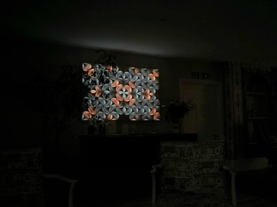 The Old Rectory: The lovely light wall ornament