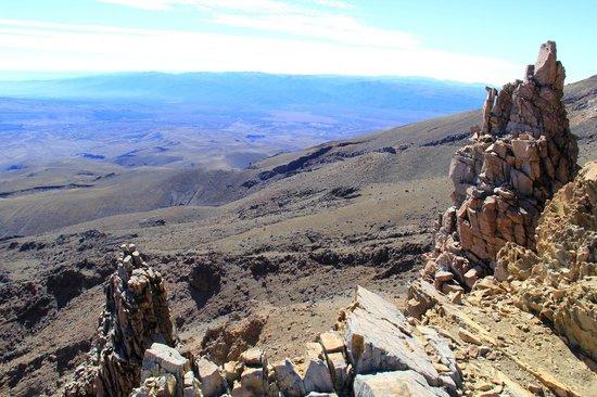 Whakapapa Ski Area - Mt Ruapehu: View from Skyline Ride walk