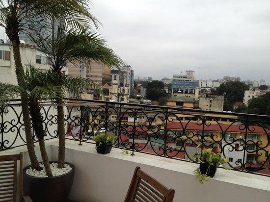 Hanoi E Central Hotel : penthouse