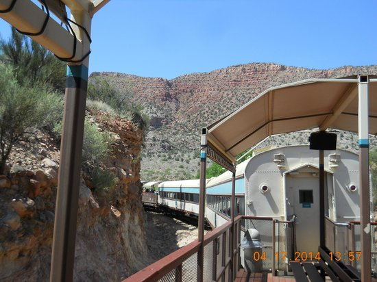 Verde Canyon Railroad: Along the train in the canyon