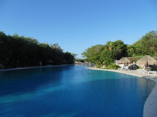 Grand Sirenis Riviera Maya Resort & Spa : Quiet pool