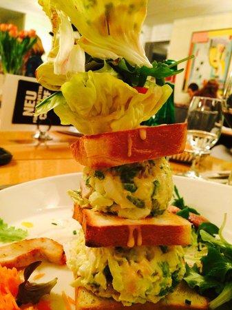 Restaurant Gabriel: Kleines Clubsandwich ...