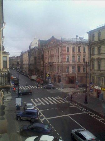 Randhouse Morskaya: Б. Морская в сторону Невского