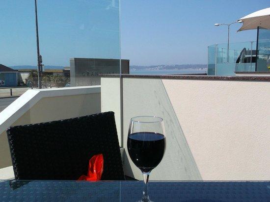 Grand Jersey Hotel & Spa : Terrace Bar