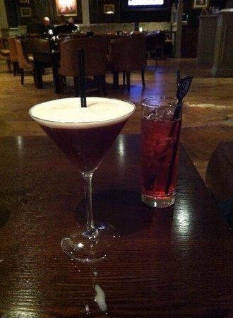 Macdonald Inchyra Hotel & Spa: Cocktails :)