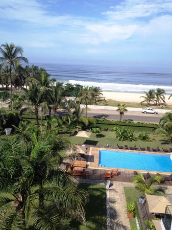 Villa madiba hotel: Room view