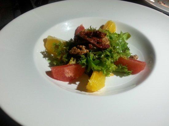 7 Adam : Thai Infused Salad with Grapefruit & Orange