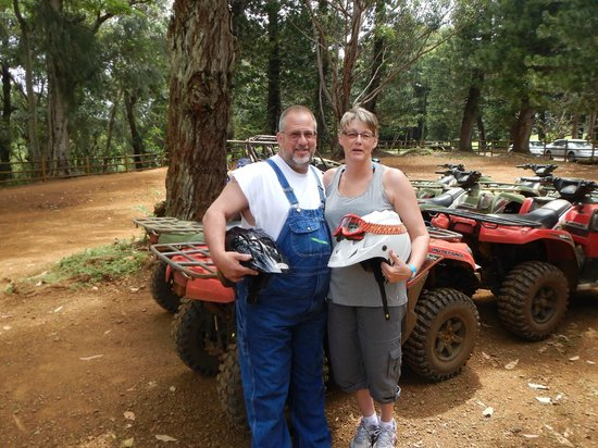 Kipu Ranch Adventures : Getting ready to head out on the trail!