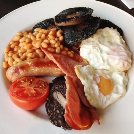 english breakfast at Vintner