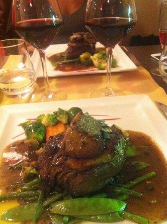 Brasserie Belvedere: Tournedos Rossini