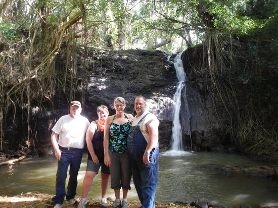 Kipu Ranch Adventures : Falls at the end of the tour.