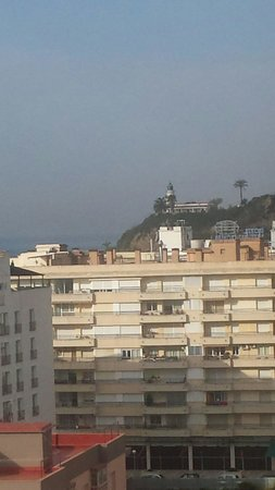 H·TOP Amaika: view of lighthouse from room 707