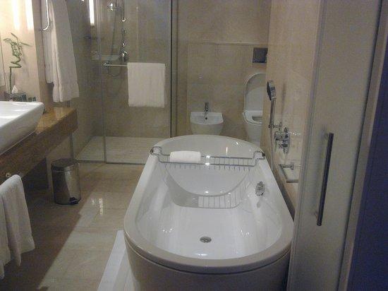 Hilton Doha: Bathroom