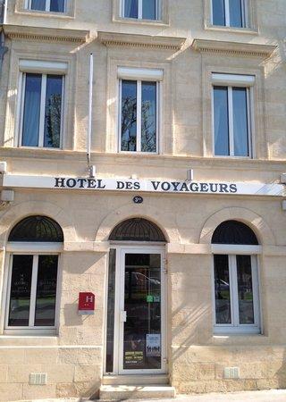Hotel Des Voyageurs : Photos facade