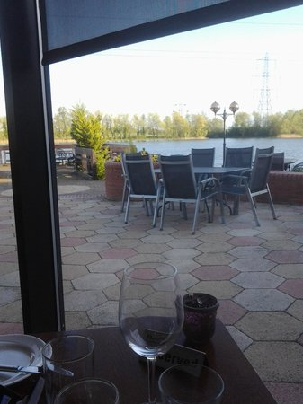 Wyboston Lakes Hotel: View from dining room