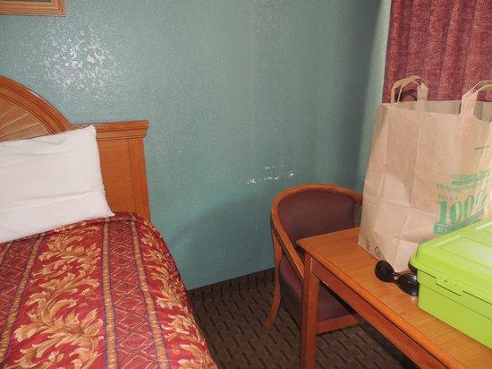 Days Inn Port Royal/Near Parris Island: Poor room conditions