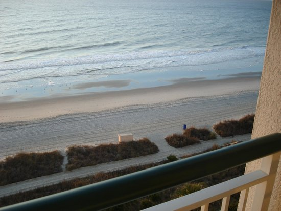 Hampton Inn & Suites Myrtle Beach/Oceanfront: Balcony