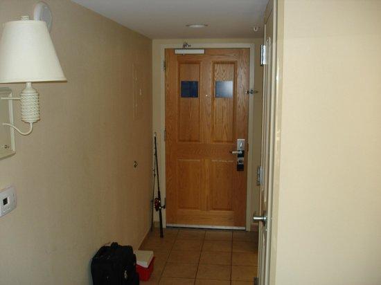 Hampton Inn & Suites Myrtle Beach/Oceanfront: Room Door