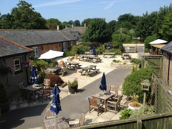 The Brewers Arms: Pub Garden
