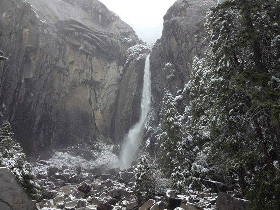 Half Dome Village: falls