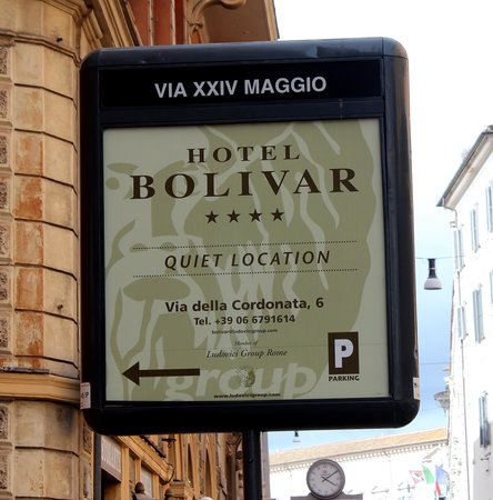 Comfort Hotel Bolivar: name from street