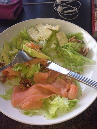 The House Kitchen: My Salmon Salad.