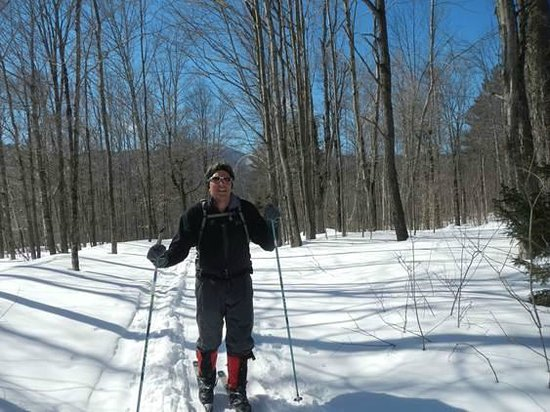 Vermont: skiing on the Catamount trail