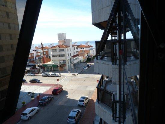 Golden Beach Resort and Spa : vista desde 4to piso.