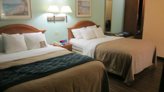 Comfort Inn & Suites Port Canaveral Area: chambre