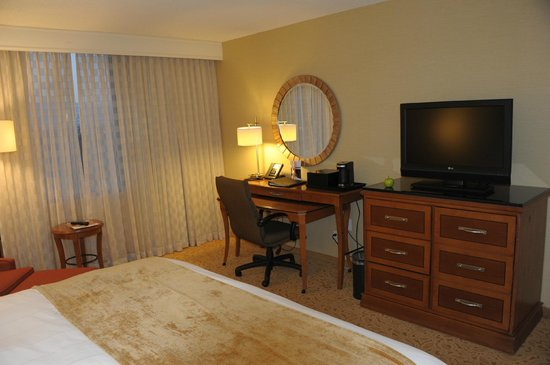 Toronto Airport Marriott Hotel: Nicely furnished and plenty of work space