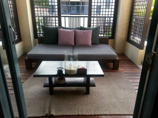 Anantara Lawana Koh Samui Resort: Deluxe room balcony