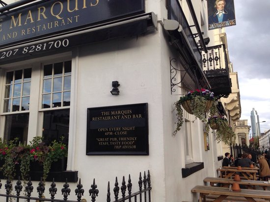 Marquis of Westminster: best pub in central london