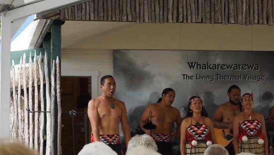 Whakarewarewa - The Living Maori Village: Haka Ceremony