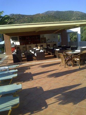 Hotel Xidas Garden : bar terrasse