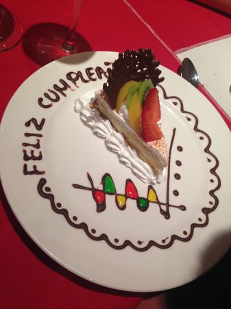 Viva Wyndham Azteca : Made a birthday celebration special - thanks!