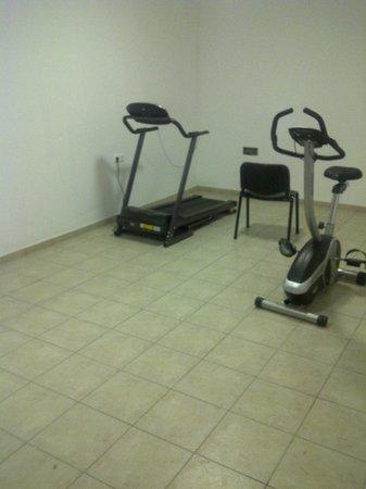 Hotel Xidas Garden : salle de sport (!)