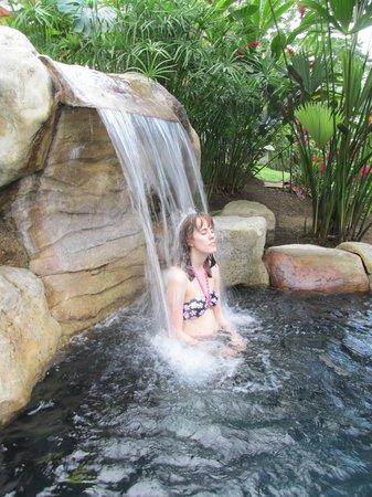 Hotel El Silencio del Campo: One of the Hot Springs Pools