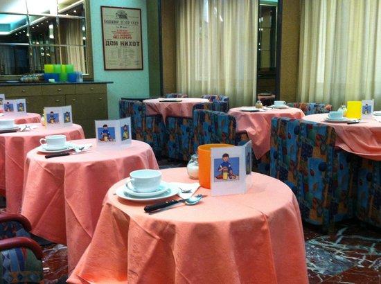 Augustus Hotel: Tavoli Colazione