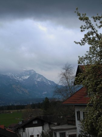 Bed & Breakfast Jackson: Zimmeraussicht mit Blick auf Schloss Neuschwanstein
