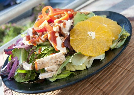 The Shwack Beach Grill: BBQ Chicken Salad