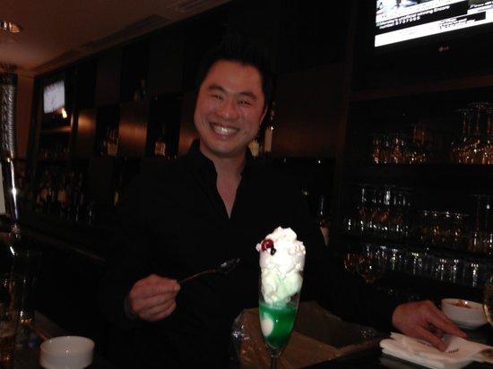 Hilton Garden Inn Toronto Airport West/Mississauga : Simons' Passion - Vanilla Ice Ceam & Cream de Mint