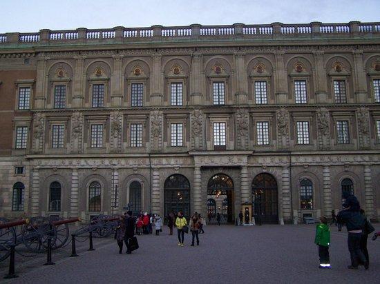 Palais royal : côté cour
