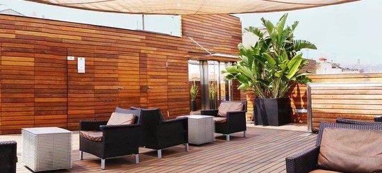 Soho Hotel: Terrace