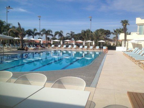 Grand Hotel Minareto : la piscina