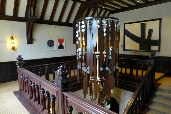 Villa Kennedy: Treppenhaus alte Villa