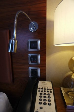 Hotel Okura Amsterdam: Local switches and convenient access to reading lights