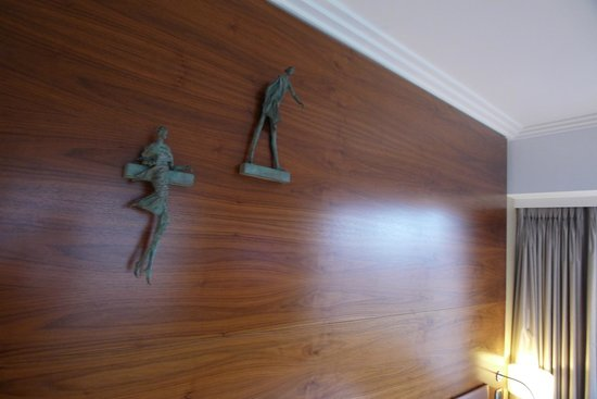 Hotel Okura Ámsterdam: Lovely sculptural details