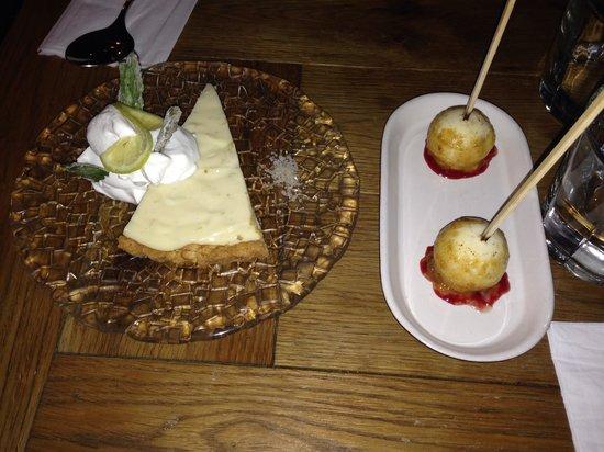 Night Kitchen: Dessert, Margarita pie and creme brûlée lollipops